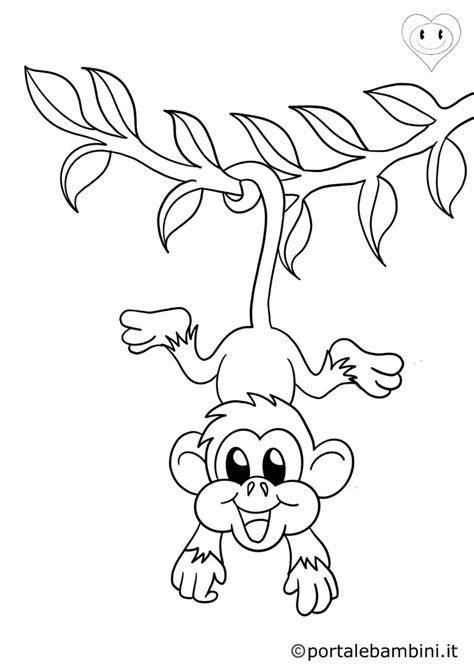 Scimmie Libro Da Colorare: Volume 3