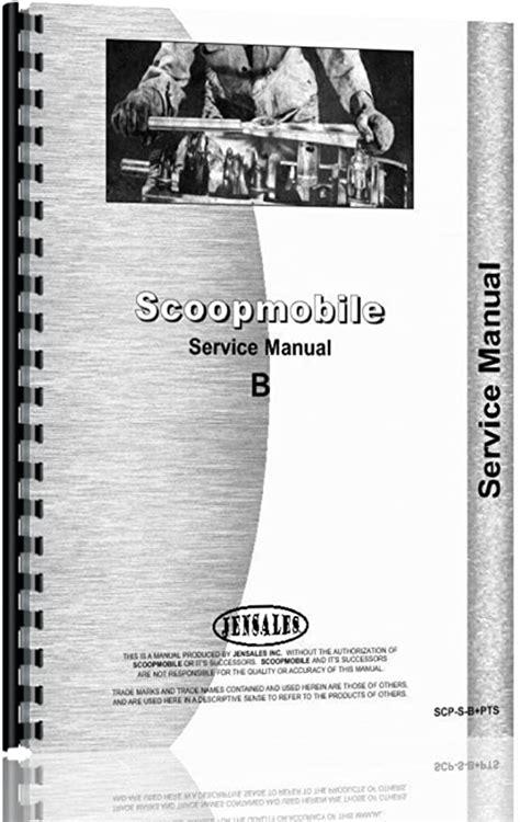 Scoopmobile B Tractor Manual