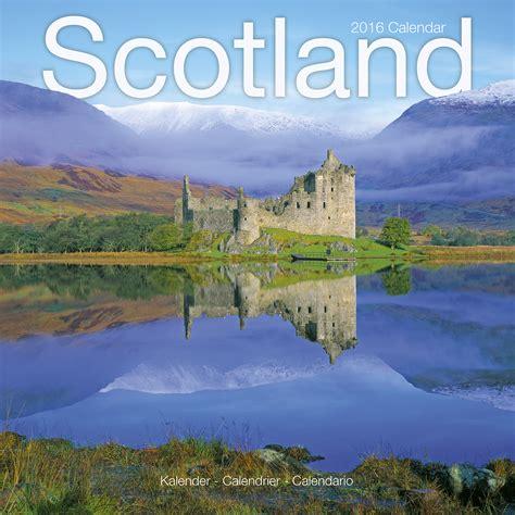Scotland Calendario Calendar 2016