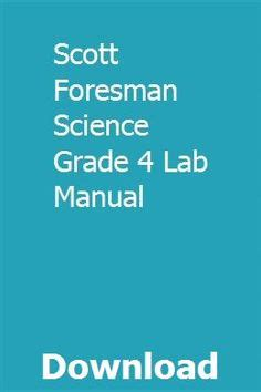 Scott Foresman Biology Study Guide Answers Cells