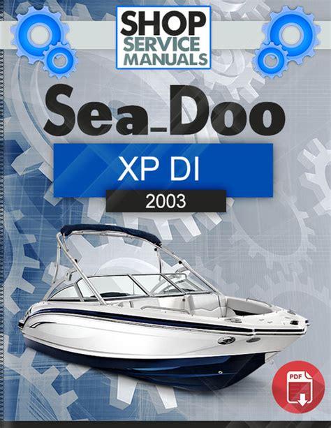 Sea Doo Gtx Di 2003 Service Repair Manual