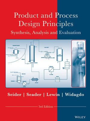 Seader Process And Product Design Solution Manual