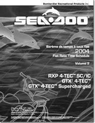 Seadoo Flat Rate Manual