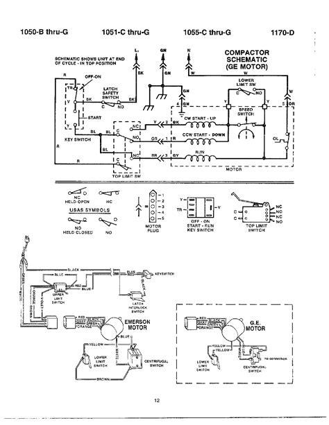 Sears Trash Compactor Wiring Diagram