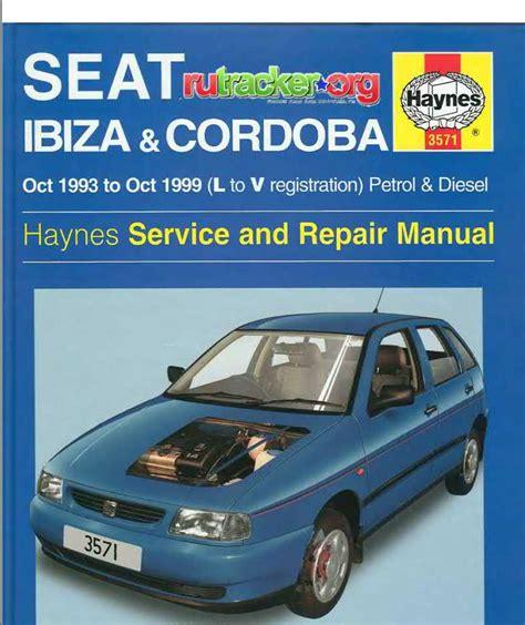 Seat Ibiza A Service Manual