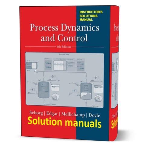 Seborg Process Dynamics And Control Solutions Manual