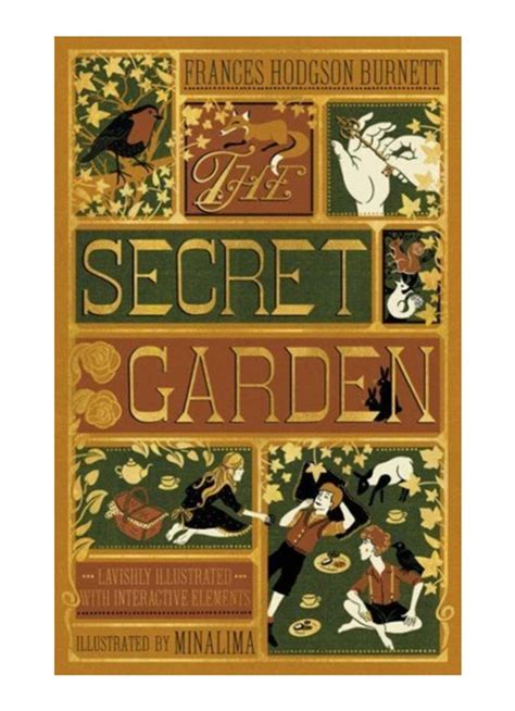 Secret Garden, The (Illustrated with Interactive Elements) (Illustrated Classics)