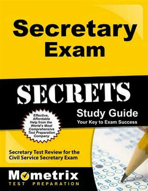 Secretary Civil Service Exam Study Guide