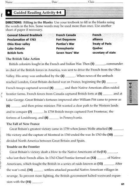 Section 2 War In Europe Guided Answers