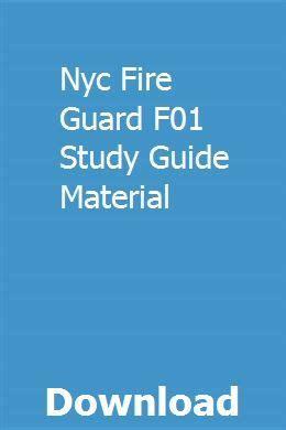 Security Guard F01 Manual