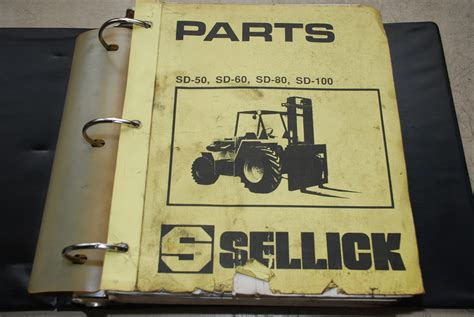 Sellick Forklift Parts Manual For Tm55