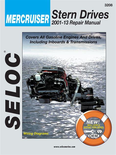 Seloc Repair Manuals Mercruiser