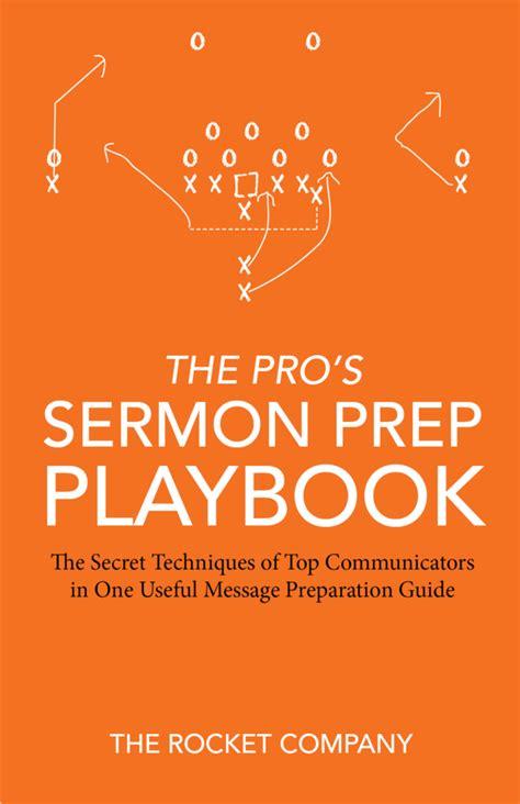 Sermon Preparation Guide