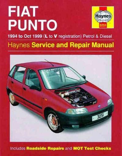 Service And Repair Manual Fiat Punto