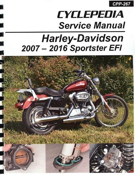 Service Manual 2016 Harley Davidson Sportster 1200