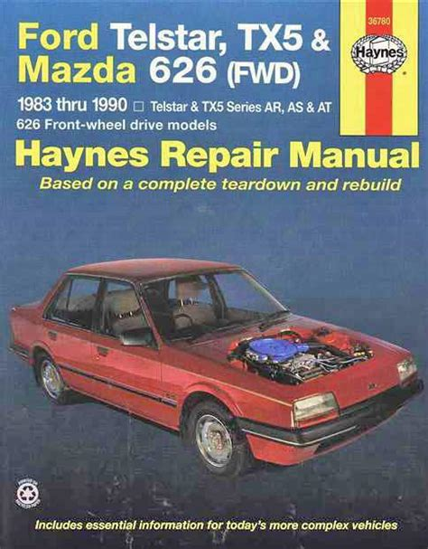 Service Manual For 1983 Ford Telstar