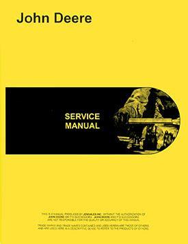 Service Manual For A John Deere 8630