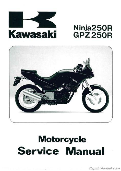 Service Manual For Kawasaki Eliminator 250