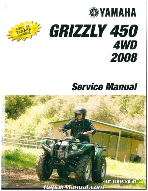 Service Manual For Yamaha 450 Grizzly