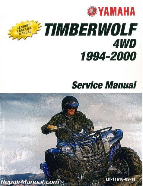 Service Manual For Yamaha Timberwolf 4 X4