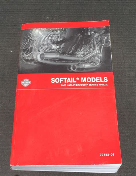 Service Manual Harley Softail 2006