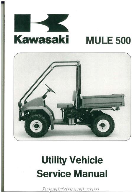 Service Manual Kawasaki Mule 550