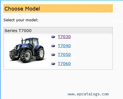 Service Manual New Holland T7000