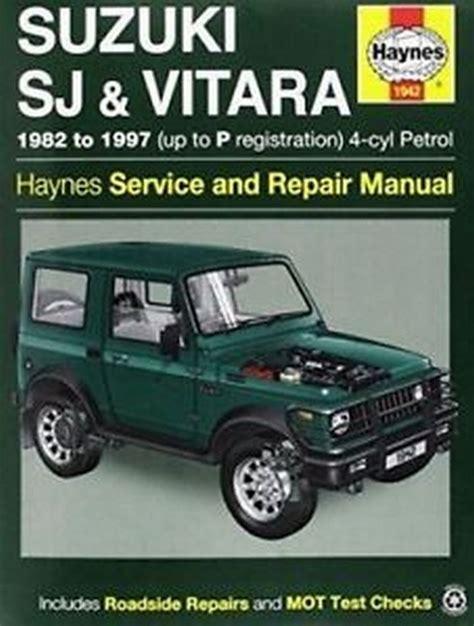 Service Manual Suzuki G13ba