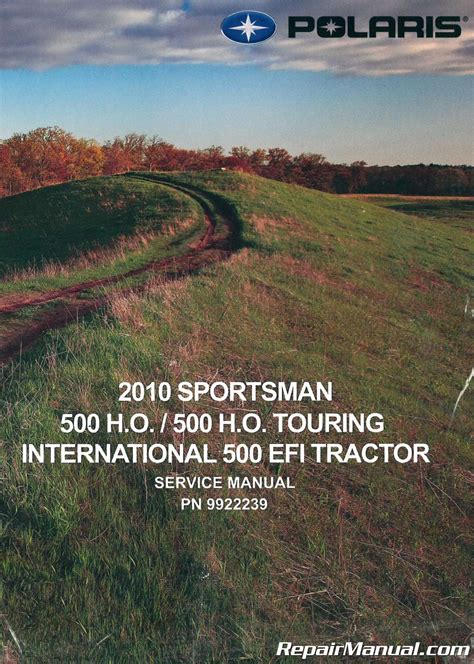 Service Manual To 2016 Polaris Sportsman500