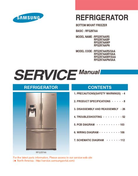 Service Repair Manual For Samsung