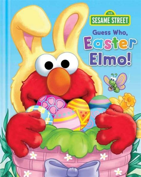 Sesame Street Guess Who Easter Elmo
