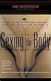 Sexing The Body Gender Politics And The Construction Of Sexuality