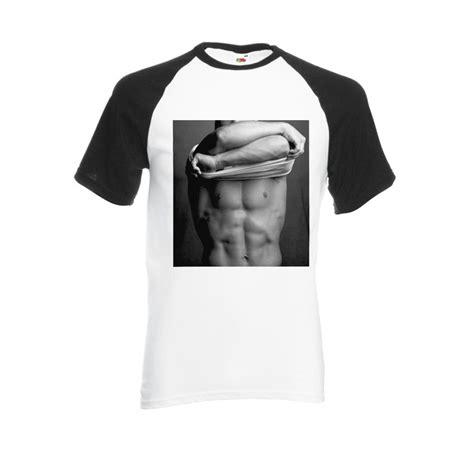 Sexy Painting Cool Black White Men Women Unisex Shirt Sleeve Baseball T Shirt