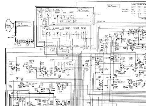 Sharp Tv Schematic Diagram