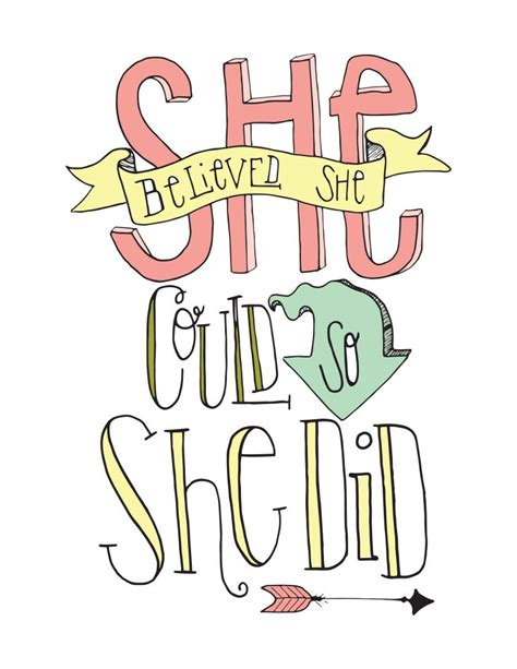She Believed She Could So She Did Notebook Stylish Cover