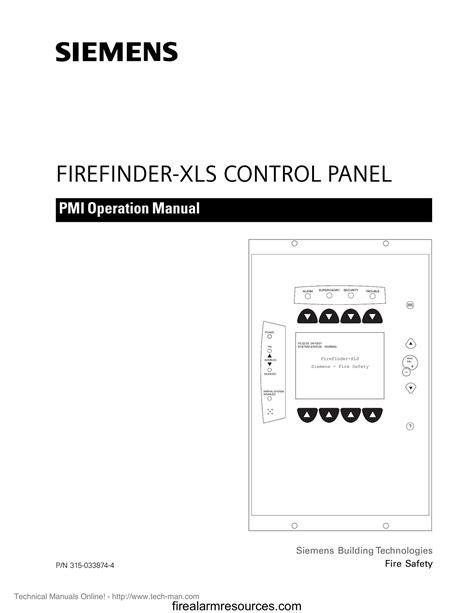 Siemens Firefinder Manual
