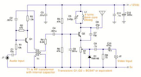 Simple Circuit Diagram Tv