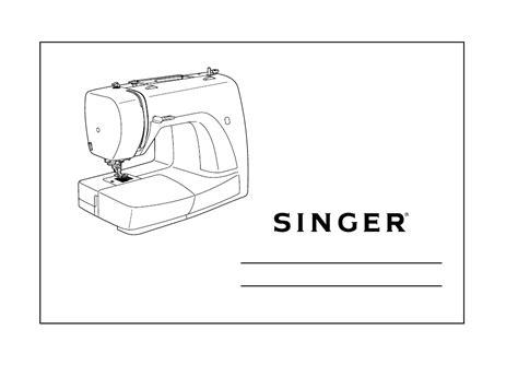 Singer Sewing Machine E99670 Manual
