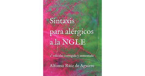 Sintaxis Para Alergicos A La Ngle