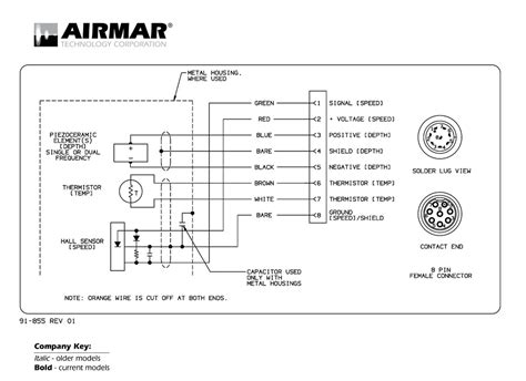 Sitex Transducer Wiring Diagram Colors