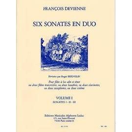 Six sonates pour flûte à bec