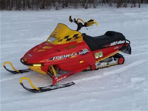 Ski Doo Formula 500 1997 Service Shop Manual