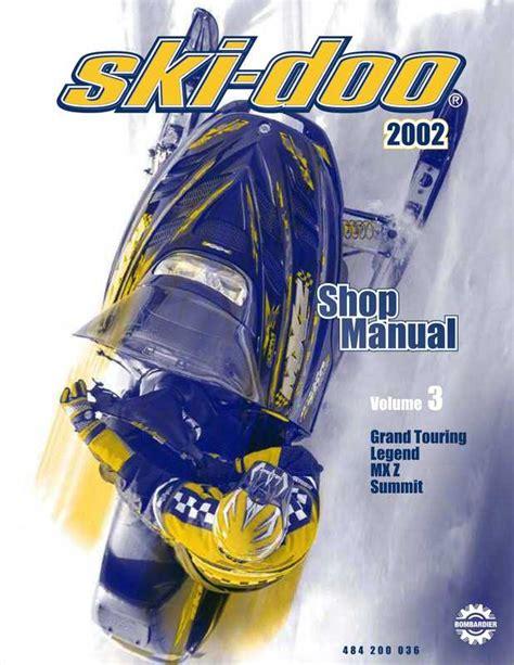 Ski Doo Manual Shop