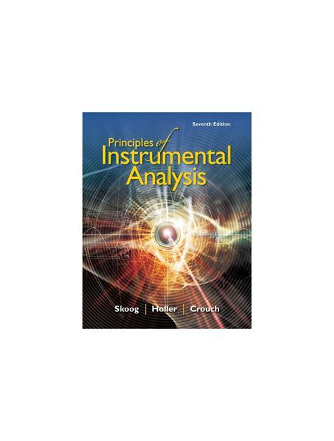 Skoog Instrumental Analysis Solutions Manual Ch 9
