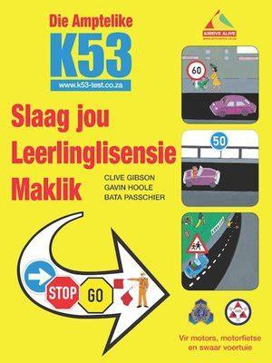 Slaag Jou Leerlinglisensie Maklik Afrikaans Edition