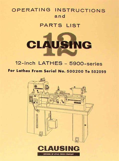 Small Lathe Operating Manual
