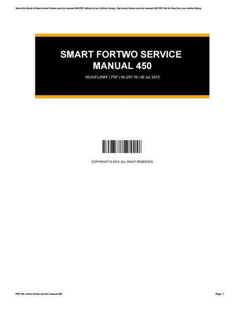 Smart Service Manual