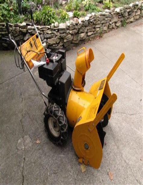 Snowflite Snowblower Manual