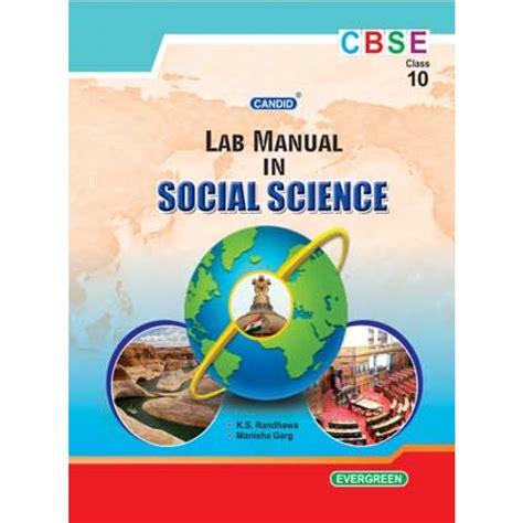 Social Science Lab Manual Cbse Class 10