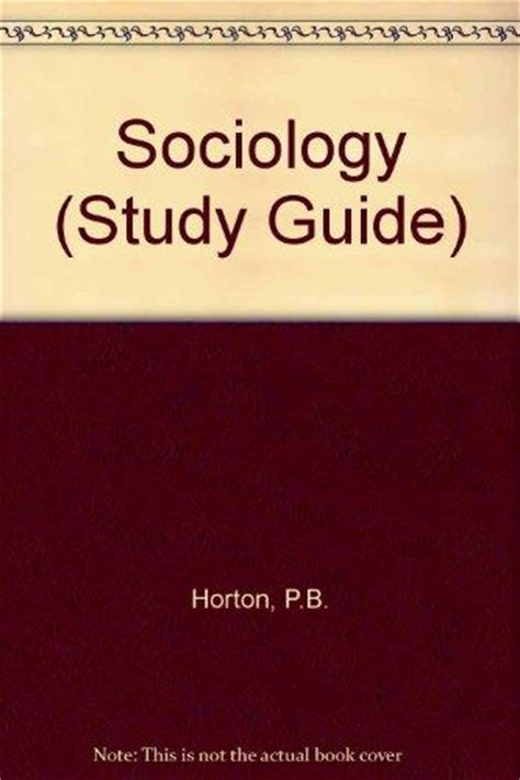 Sociology Study Guide